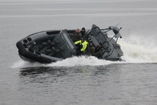 RIB båd til militæret